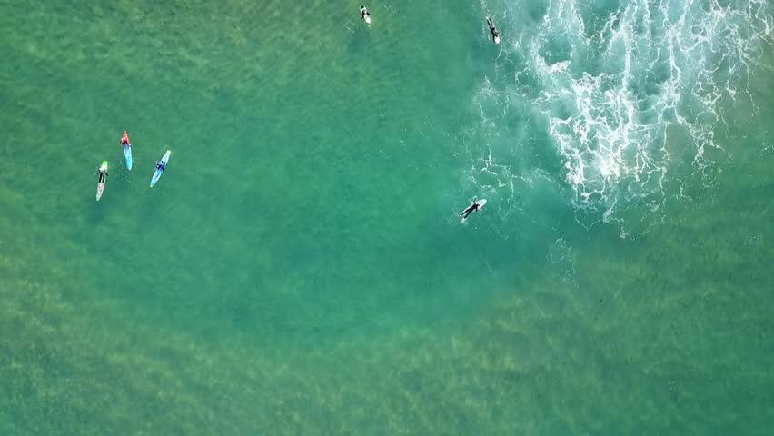 Aerial over Surfers, Australia