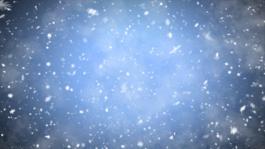 Snowfall, winter background | Shutterstock HD Video #2884234