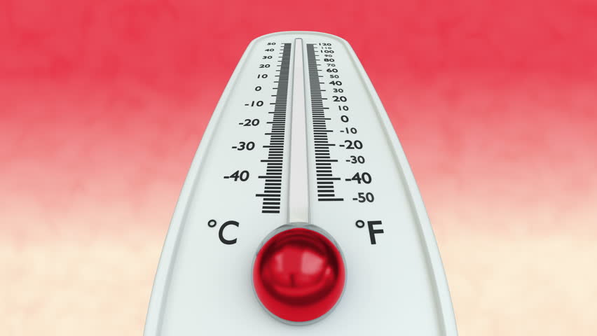 Thermometer with Increasing Temperature On Stock Footage Video (100%  Royalty-free) 28893514 | Shutterstock