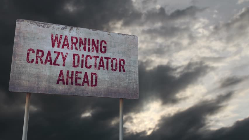 Header of dictator
