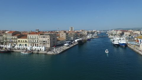 SETE - FRANCE - 2017 - DRONE VIEW - HARBOR OF SETE