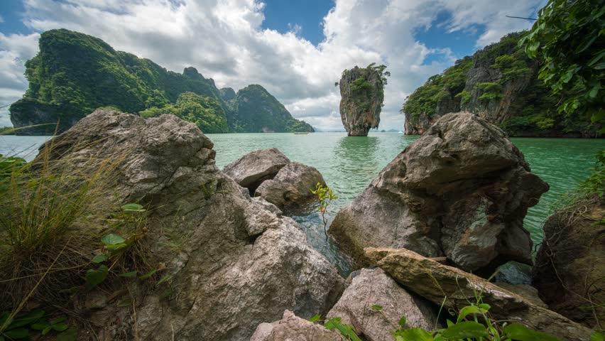 james bond island, phangnga bay, phang nga province, Thailand