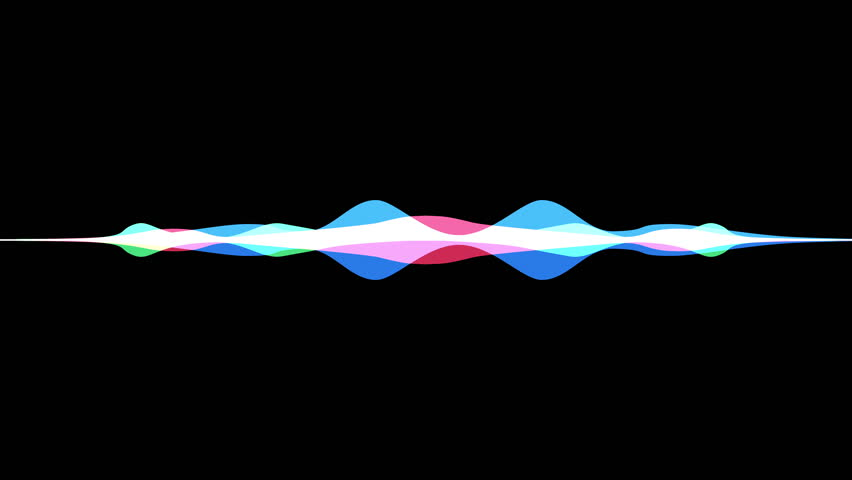 colorful waveform, imagination of voice record, artificial intelligence #29030944