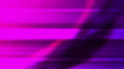 Abstract Animation Future Geometric Shape with Noise Glitch Video Damage