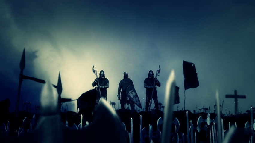 King Richard the Lionheart Leading His Massive Army to War | Shutterstock HD Video #29157334