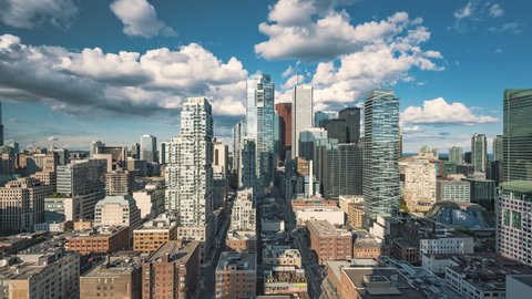 4K Timelapse Sequence of Toronto, Canada - Downtown Midtown Toronto at Daytime