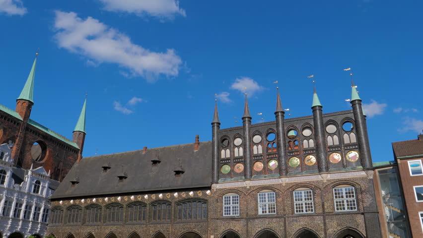 Lubeck city hall, Germany