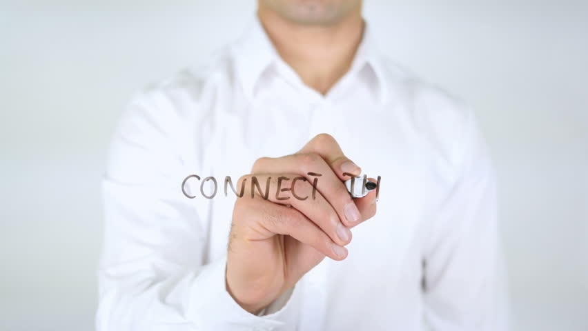 Connect the World, Man Writing on Glass   Shutterstock HD Video #29171554