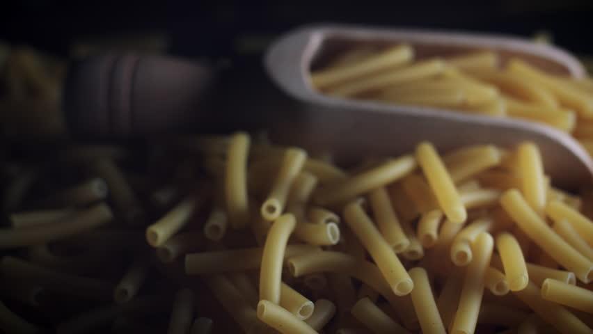 4k Dolly Shot of Italian Pasta Macaroni | Shutterstock HD Video #29265694