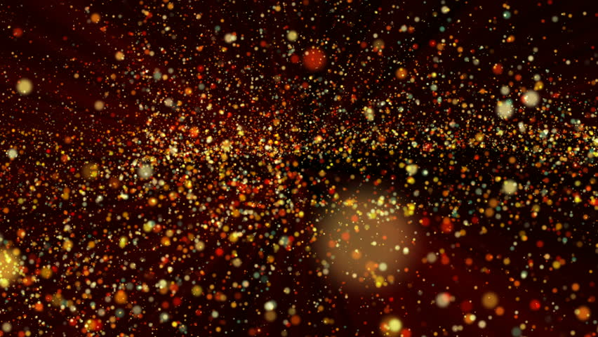 Abstract animated composition with balls randomly moving in space in red and yellow | Shutterstock HD Video #29274034