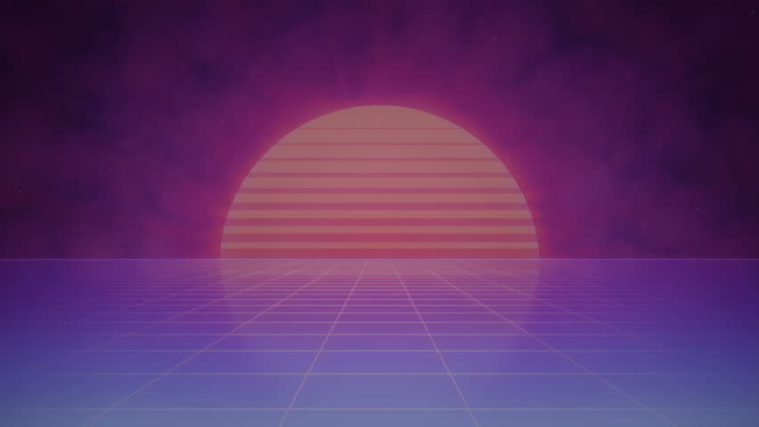 striped sun and grid in stock footage video  100  royalty