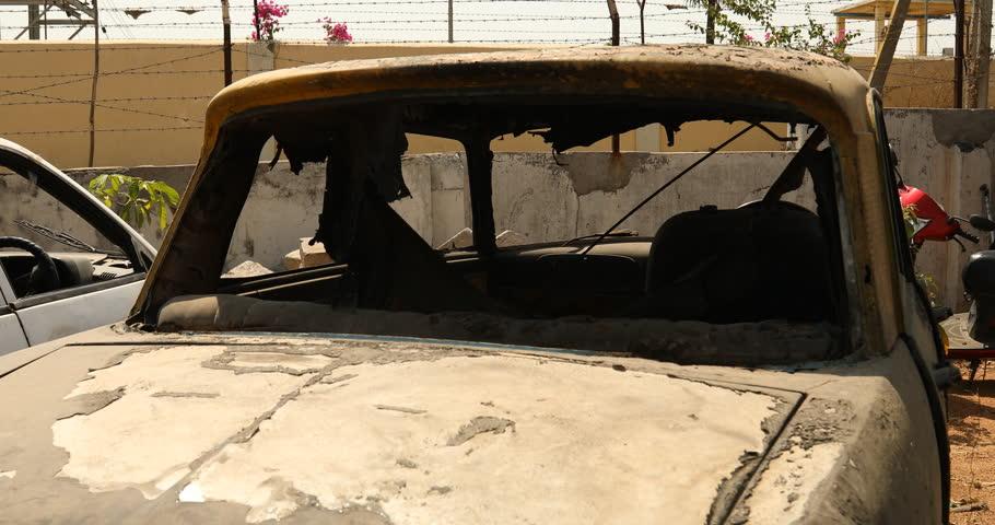 old Car scrapyard