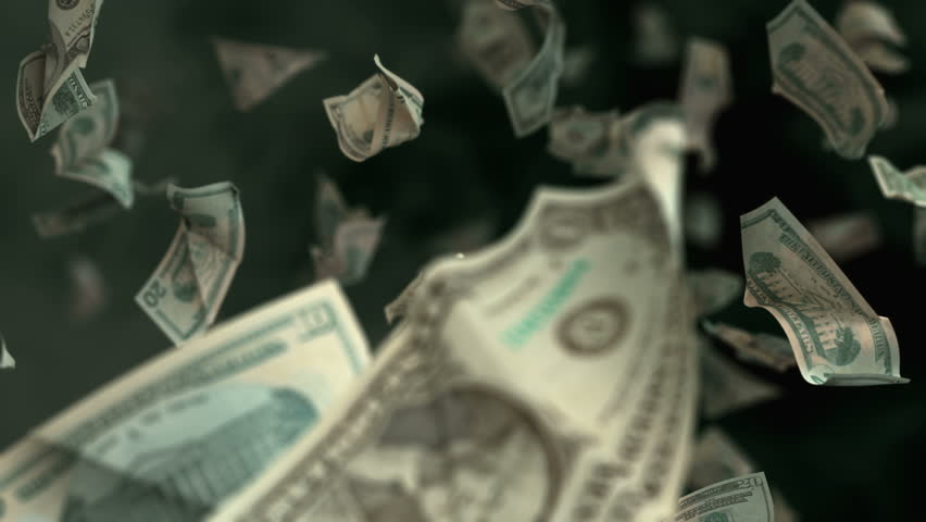 Falling Dollar banknotes in 4K Loopable. High quality falling Dollar banknotes in 4K. Video is Loopable | Shutterstock HD Video #29472052