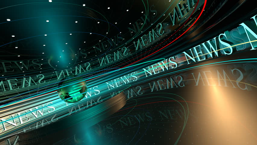 News broadcast backgrounds