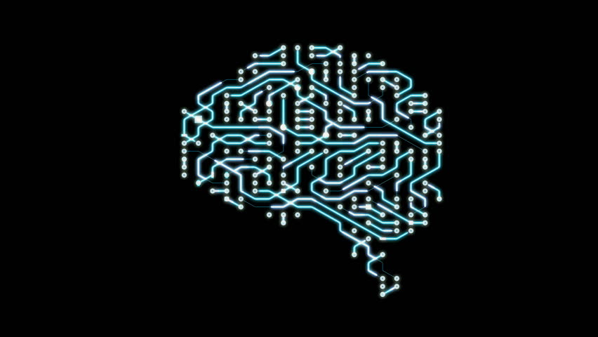 Seamless looping animation of a brain circuit board. 16-Bit. 4K UHD.  | Shutterstock HD Video #29492104