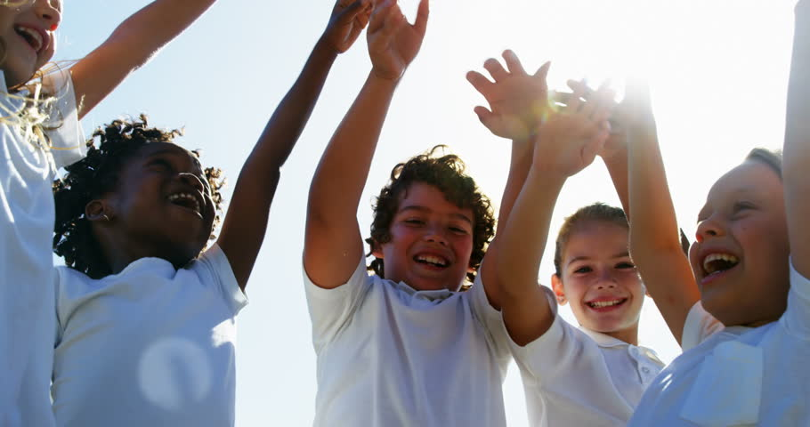Happy children enjoying in sunny day | Shutterstock HD Video #29578246