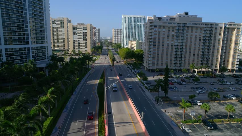 Aerial Hallandale Beach FL | Shutterstock HD Video #29734864
