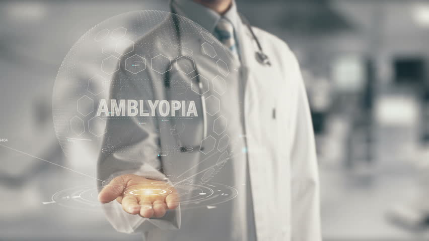 Header of amblyopia