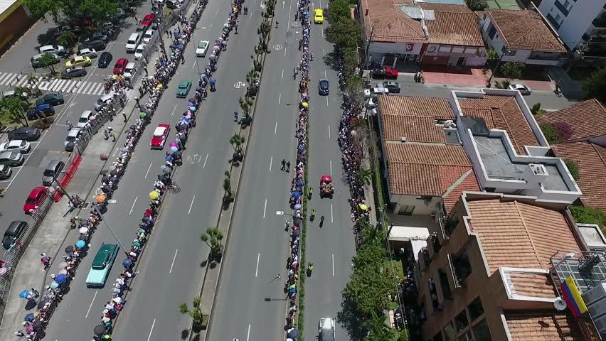 Old parade cars Medellin | Shutterstock HD Video #29791024