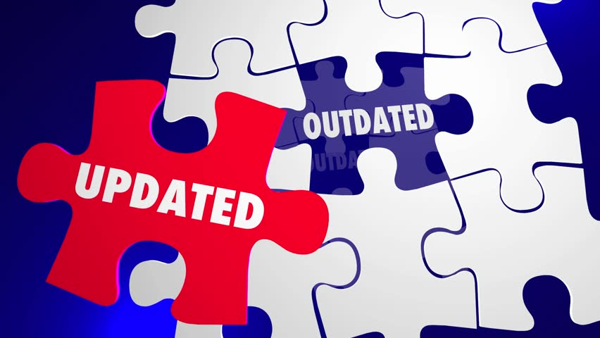 Updated Vs Outdated Puzzle Pieces Updating New 3d Animation | Shutterstock HD Video #29827462