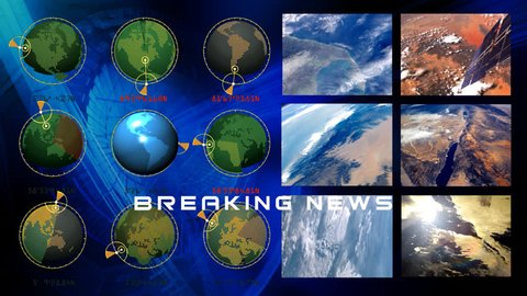 Background for breaking news v.3. Background for heading, name, title, logo, text...