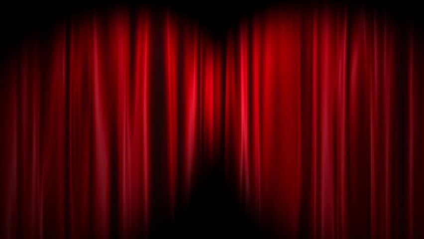 Red Curtains Open, White Background Stock Footage Video 2992324 |  Shutterstock