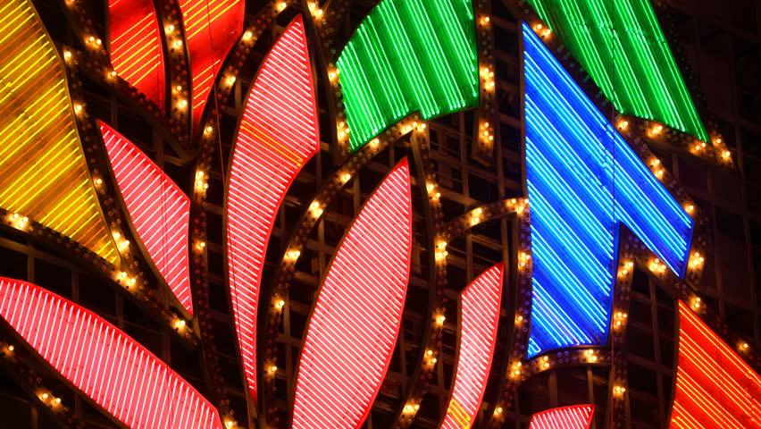 Casino Neon Lights | Shutterstock HD Video #29959744