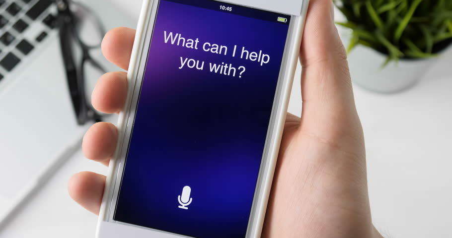 Using intelligent personal assistant on smartphone