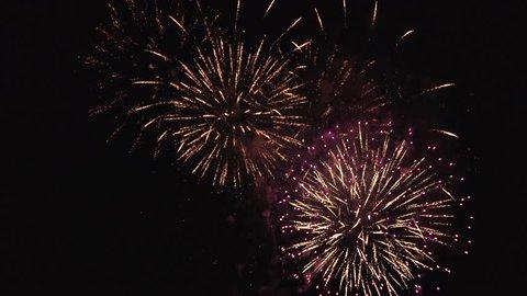 Fireworks Hanabi 4K in Japan