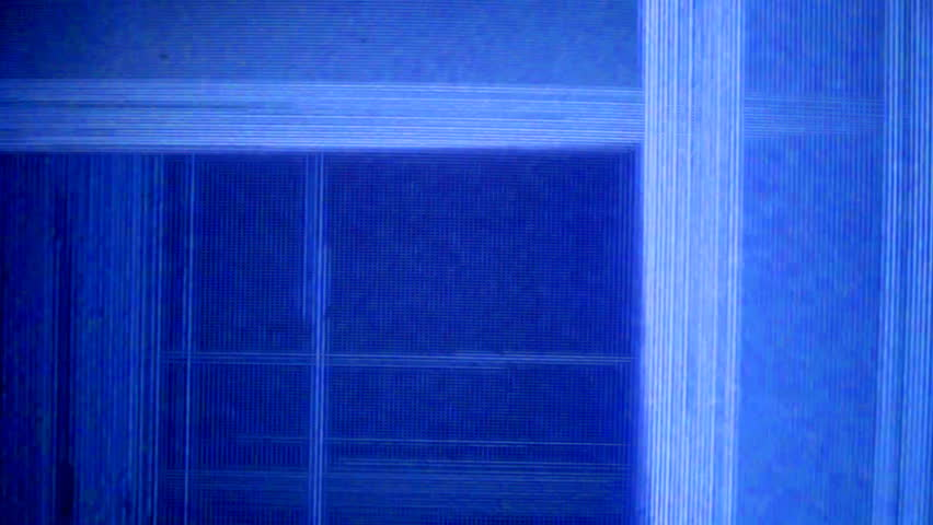 static and electronic noise captured from an old televison
