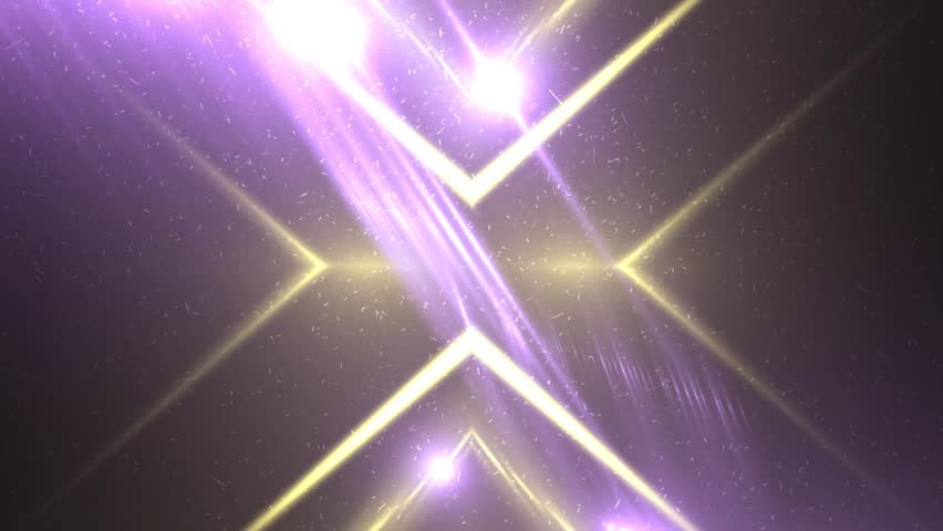 4k Disco Hypnotic Light Centerd Vj Loop Disco Effect: Neon Triangular Electric Techno Lights. Blue And Pink