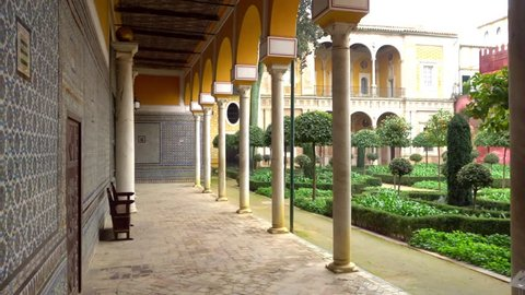 La Casa de Pilatos (Pilate House) is an Andalusian palace in Seville, Spain, permanent residence of Dukes of Medinaceli, Renaissance Italian and Mudejar styles, prototype of Andalusian palace.