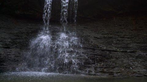 Beautiful Cascading Waterfall shale base - Blue Hen Falls
