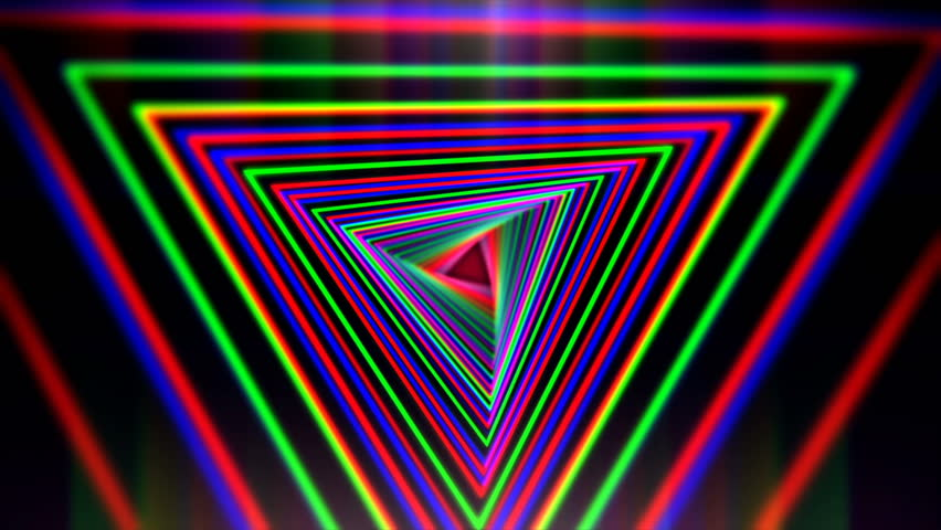 neon psychedelic rainbow background 1080p after effects