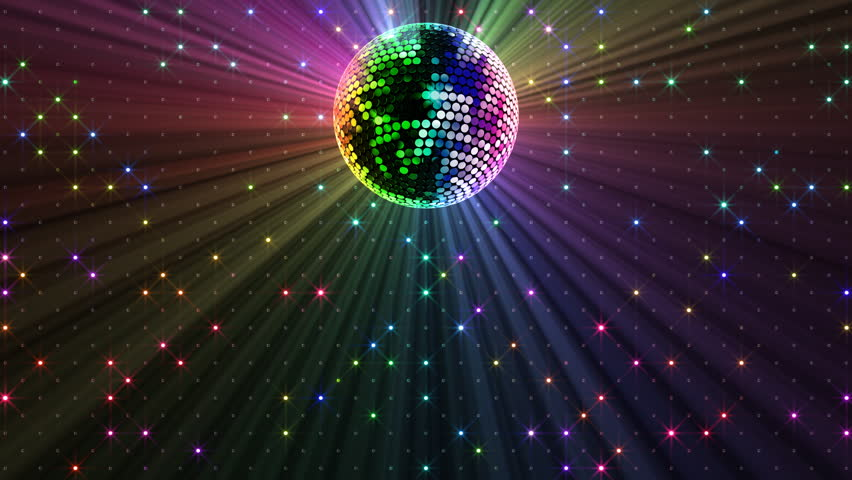 Mirror Ball And Ball Light Stock Footage Video 100