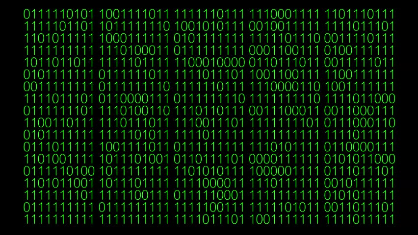 Binary code screen.green text and black background. | Shutterstock HD Video #30591334