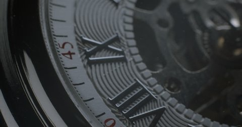 Watch tourbillon rotating macro slowmotion – orginal file : 4K DCI, PRO RES 444, 12 bits