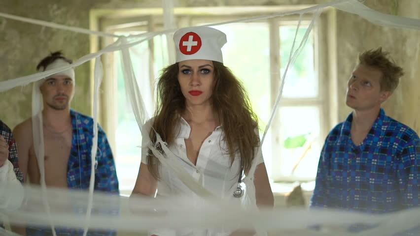 Crazy Doctor Stock Footage Video  Shutterstock-4657