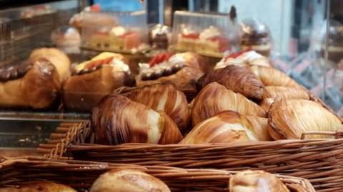 Buying Sfogliatella A Neapolitan Traditional Pastry Naples Italy