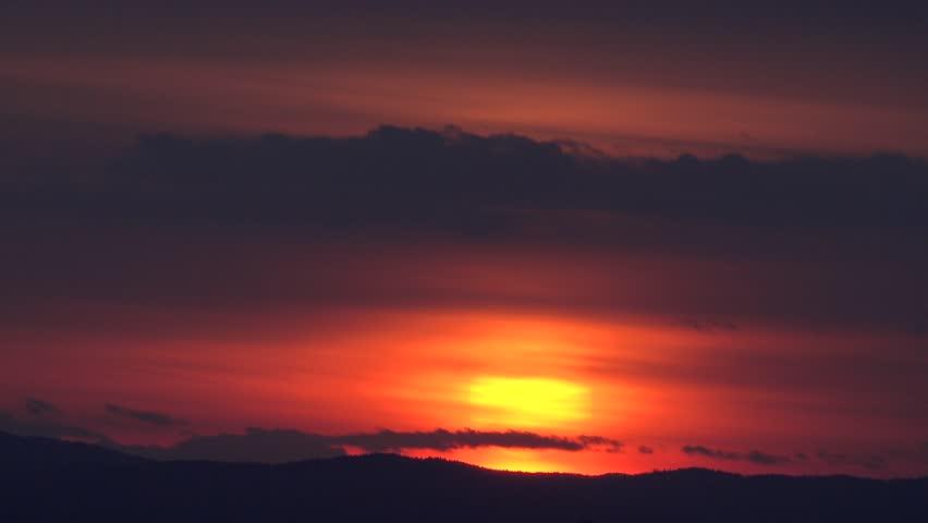 06e882d22da53 4k Spectacular Sunset Orange Light