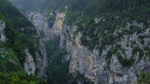 Escuain gorge, Ordesa y Monte Perdido National Park, Sobrarbe,Huesca province, Aragon, Spain, Europe