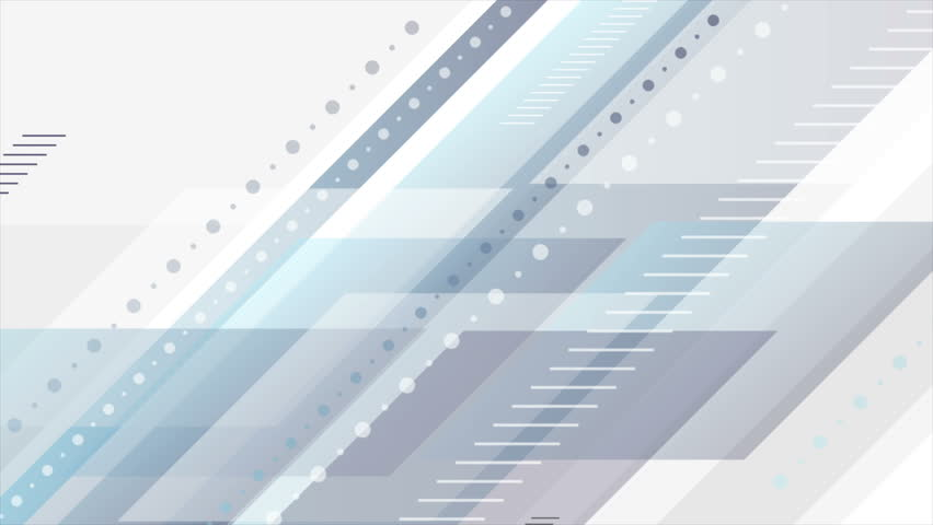 Blue and grey abstract tech geometric minimal motion background. Seamless loop. Video animation Ultra HD 4K 3840x2160 | Shutterstock HD Video #30991414