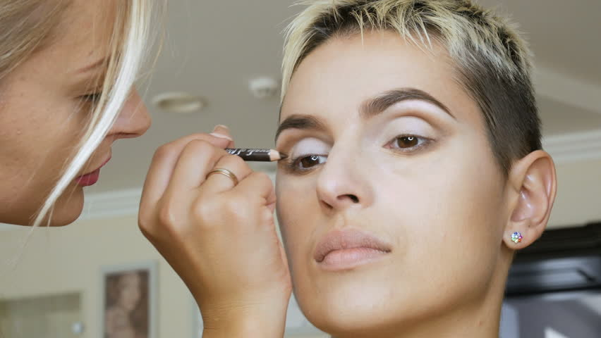 Makeup Specialist Artist Makes a Stock Footage Video (100% Royalty-free)  30998404 | Shutterstock