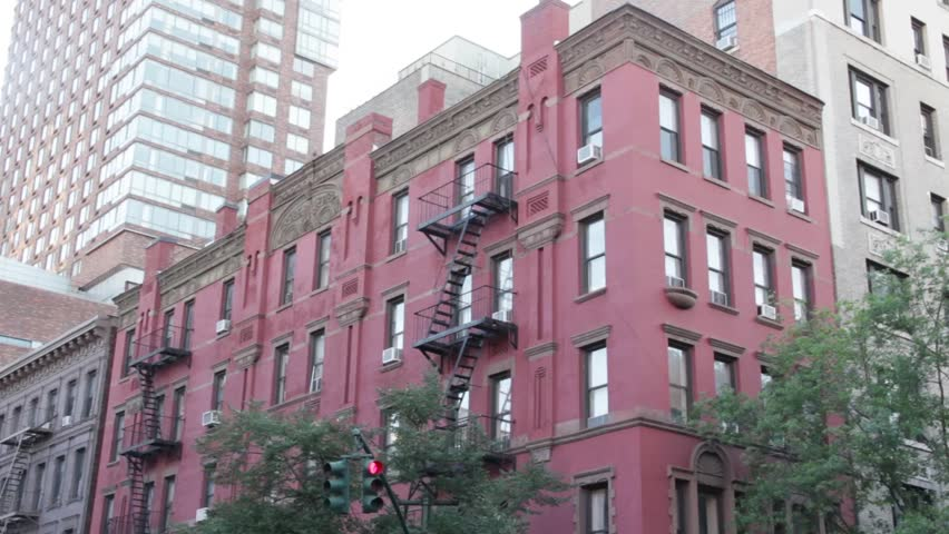 new york ny october 3 2015 a red brick apartment building in - Brick Apartment 2015
