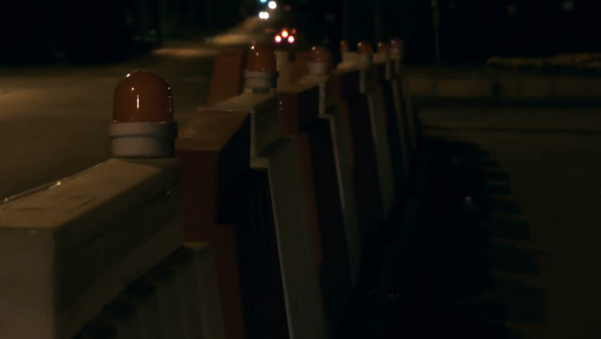 Road barrier with bulbs #31037110