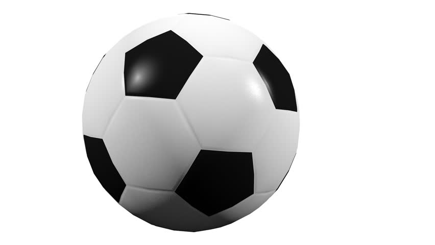 3D Animation - Soccer ball rolling with alpha channel | Shutterstock HD Video #31060984