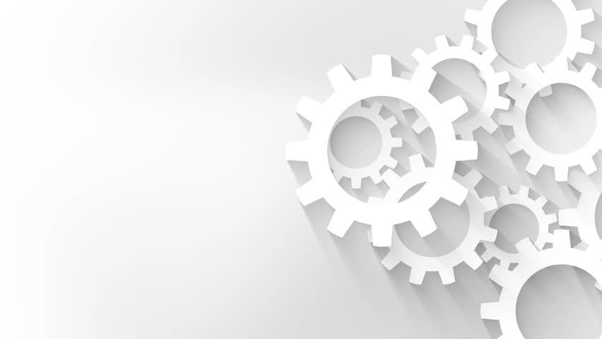 Mechanical Engineering Background Animation Stock Footage
