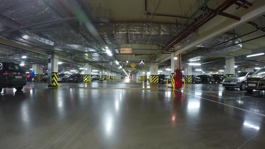Multi Level Parking Garage Cars Car Park Parking Lot