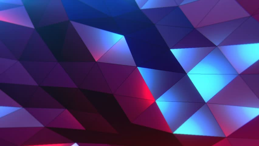 Technology Management Image: Triangles Hipster Animation, Retro Pattern Of Geometric