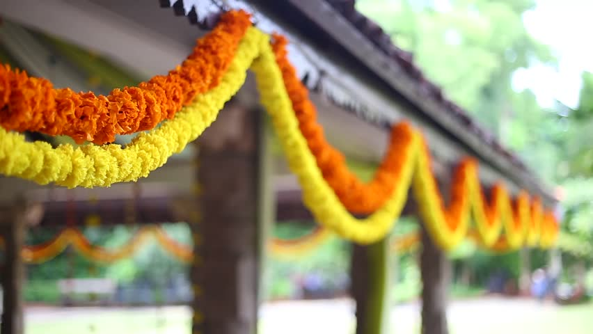 South Indian Hindu wedding decor